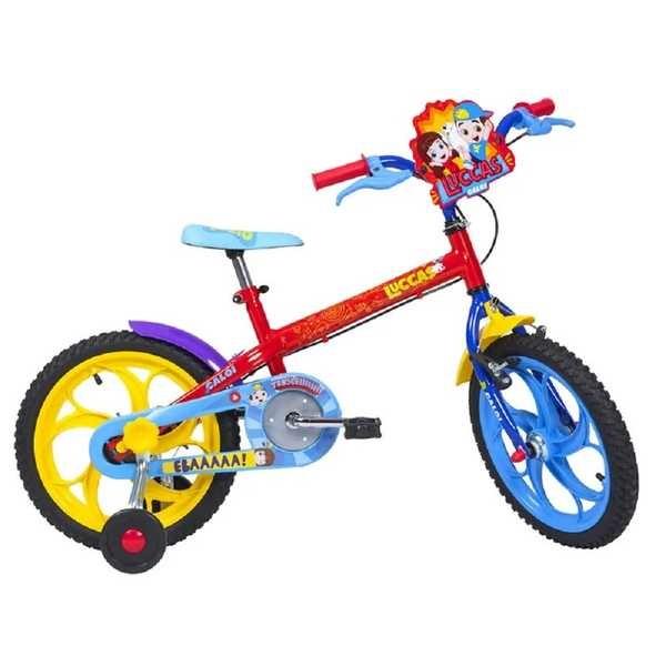 Bicicleta Infantil Luccas Neto Aro 16 1 Un Caloi Gimba